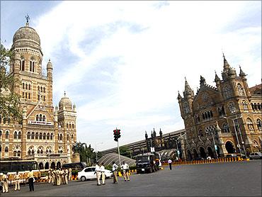 Mumbai's Chhatrapati Shivaji railway station.