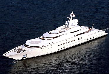 Prince Abdulaziz yacht.