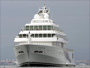 Rising Sun yacht.