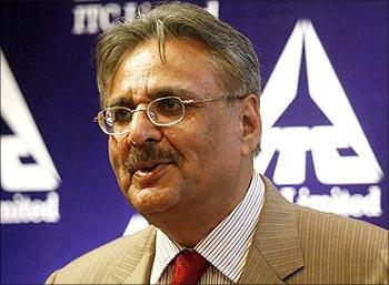 ITC chairman Yogi Deveshwar.