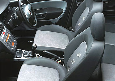 Interior view of Punto.