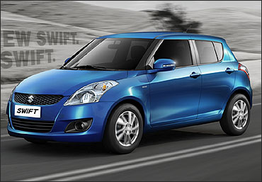 The new Maruti Swift.