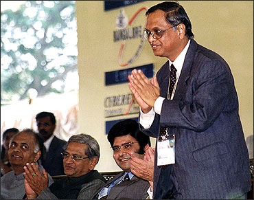 After 30 years, it is Murthy's last day at Infosys