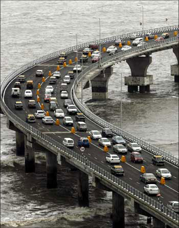 Bandra-Worli Sea Link, Mymbai.