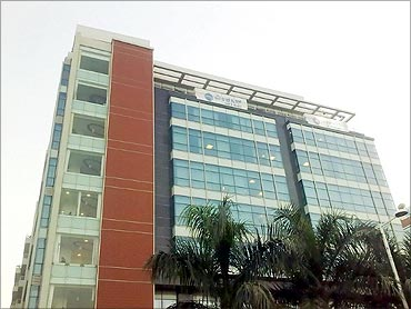 Mphasis office.