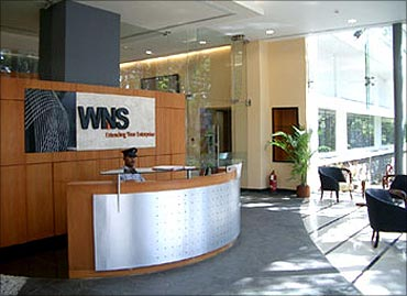 WNS Global Services.