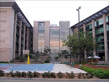 Microsoft's India headquarters.