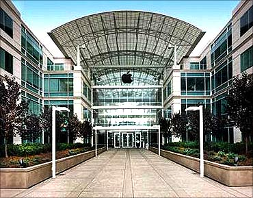 Apple headquarters.