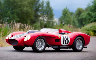 Ferrari 250 Testa Rossa prototype competed in Le Mans.