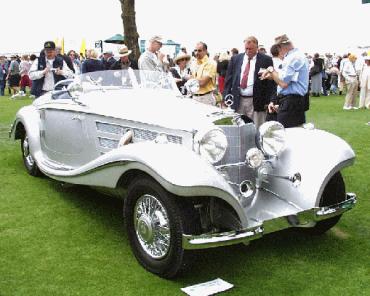 1937 540 K Spezial Roadster.