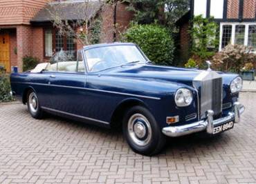 1963 Rolls-Royce Silver Cloud III Drophead Coupe.