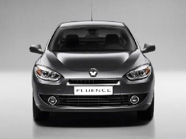 Renault's latest premium offering, Fluence