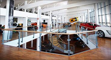 Lamborghini museum.