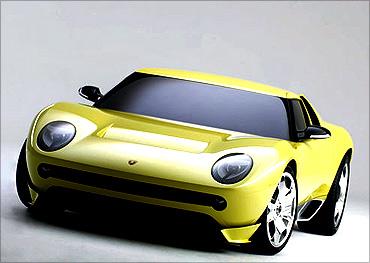Miura Concept car.