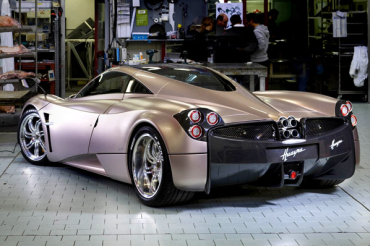 Huayra is a 700-horsepower vehicle.