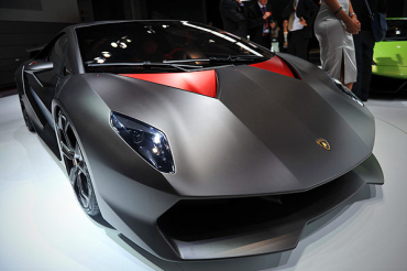 Only 20 units of the Lamborghini Sesto Elemento have been built.