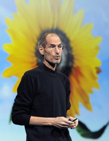 Steve Jobs discusses the iCloud service at the Apple Worldwide Developers Conference.