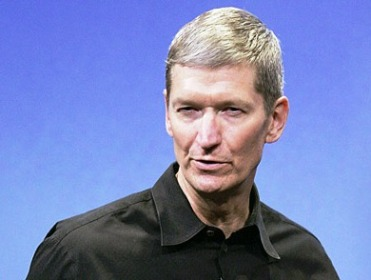New Apple CEO Tim Cook.