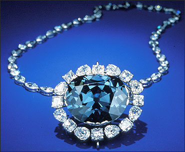 Hope: World's biggest blue diamond.