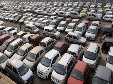 Domestic car sales down 22.51% in March