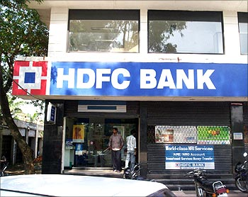 HDFC is charging 10.75 per cent for loans below Rs 30 lakh.