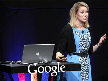 Marissa Mayer, VP, search products and user experience for Google , unveils Google Instant.