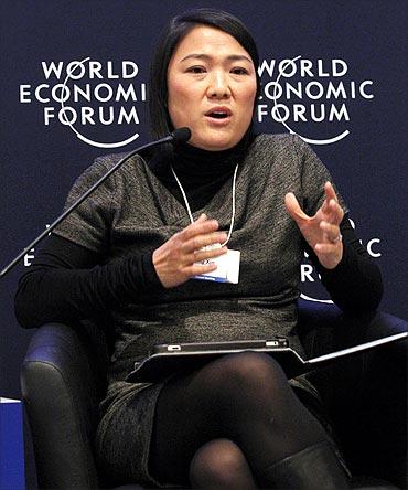 Zhang Xin.