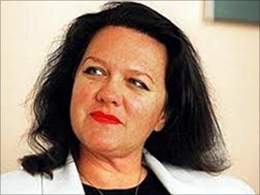 Georgina Rinehart.