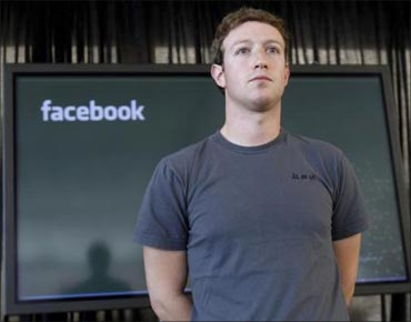 Mark Zuckerberg, Facebook CEO.