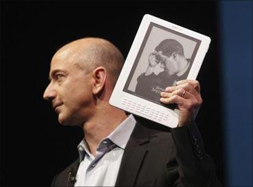 Jeff Bezos, Amazon.com CEO.