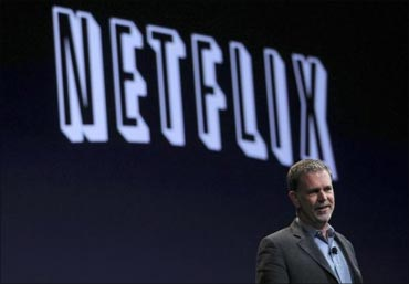 Reed Hastings, Netflix CEO and co-founder.