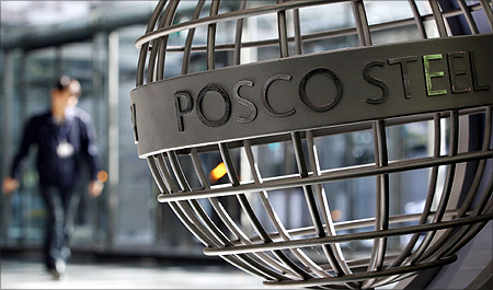 This is the first time that Posco has been awarded.