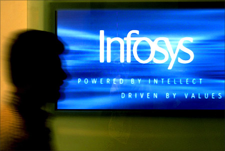 Infosys Q3 net up 33.25% at Rs 2,372 crore