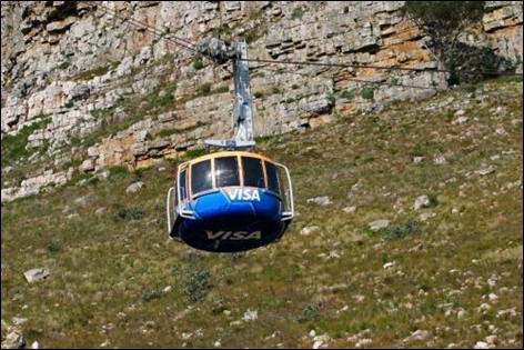 Table Mountain Tram.