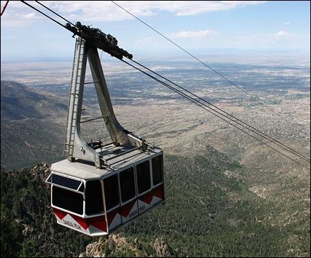 Sandia Peak Tramway.