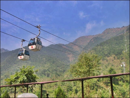 Manakamana Cable Car.