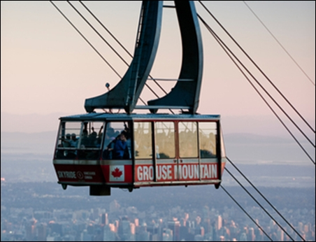 Grouse Mountain Skyride.