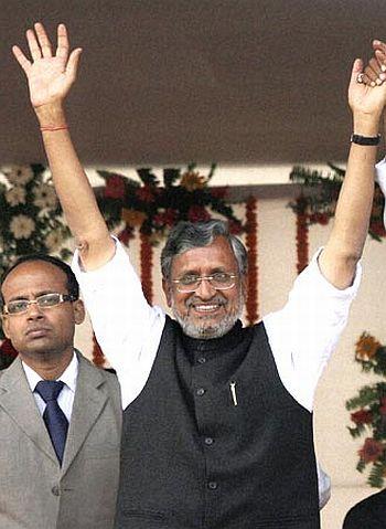 Bihar Deputy Chief Minister Sushil Modi.