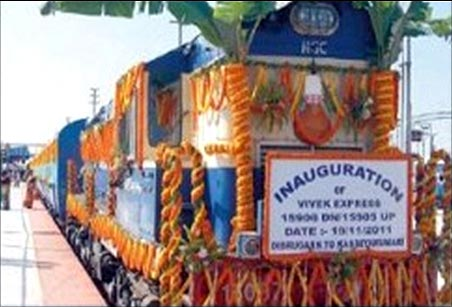 Vivek Express.