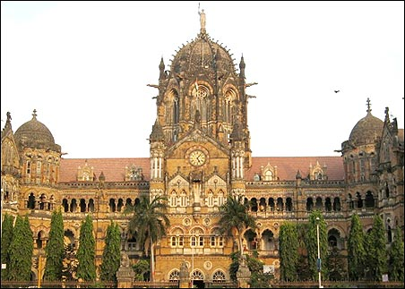 CST station, Mumbai.