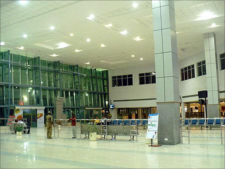Nagpur airport.