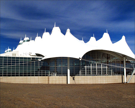 Denver International Airport.