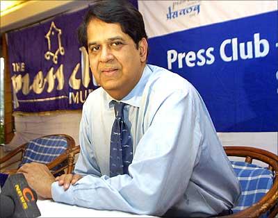 The new Infosys chairman K V Kamath.