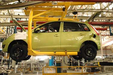Land utilisation: Car firms in slow gear