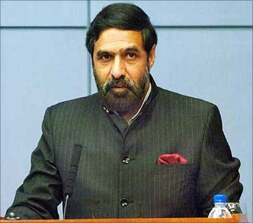 Commerce and Industrial Promotion minister Anand Sharma