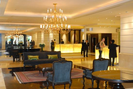 A Lebua hotel lobby.