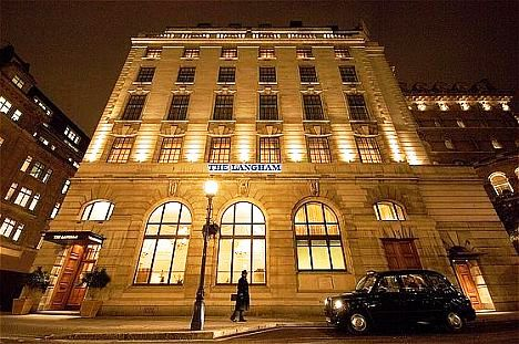 The Langham Hotel.
