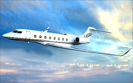 Gulfstream G650.