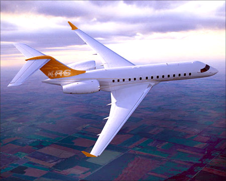 Bombardier Global Express XRS.