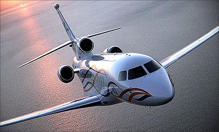 Dassault Falcon 7X.